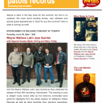 Patois Records Newsletter